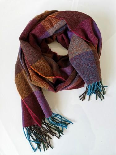 Extra fine Merino wool shawl