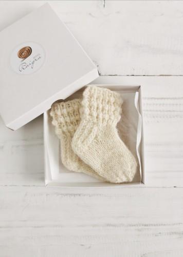 New baby wool socks